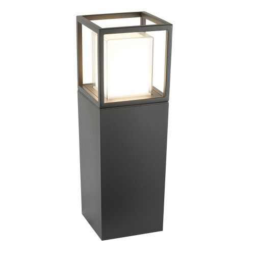Ohio Outdoor Led Post (45Cm Height), Dark Grey, Opal White/Clear Diffuser 3843-450Gy